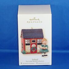 Hallmark - 2007 - Ireland - Joy to the World - Keepsake Christmas Ornament - NIB