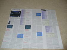 Luxman Review, 6 pgs, M-383 Amp, C-383 Pre, Full Test!