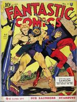 FANTASTIC COMICS GOLDEN AGE COLLECTION PDF ON DVD