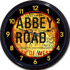 Beatles Abbey Road Wall Clock NW8 Westminster London UK England Ringo New 10""