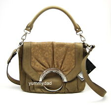 MIMCO WILDERNESS SATCHEL LEATHER BAG IN TAUPE BNWT RRP$450
