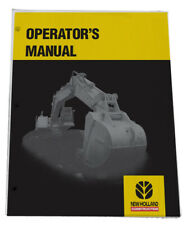 New Holland Lb 620 Loader Backhoe Owners Operators Maintenance Manual Book