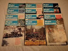 Vintage Model Railroader Magazine Full Year 1976