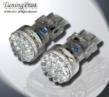 LED Front Signal Light Bulbs 3157 24 Blue Set of 2pcs (two pcs) 3757A 3057