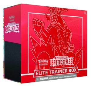 Pokémon TCG Sword and Shield Battle Styles Elite Trainer Box - Blue / Red - NEW