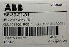 NEW IN BOX! ABB Contactor B6-30-01-01 GJL121001R0011