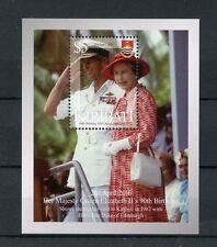 Kiribati 2016 MNH Queen Elizabeth II 90th Birthday Anniv 1v M/S Royalty Stamps