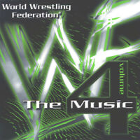 World Wrestling Federation: The Music, Vol. 4 by Various Artists (CD, Nov-1999,