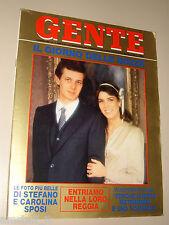 GENTE=1984/2=GIORGIO CAPRONI =MOSTRA SANTINI=MASSIMO GRILLANDI=ALEXIS ARGUELLO