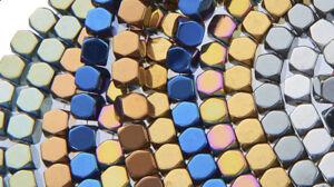 EIMASS® Semi-Precious Gemstone Cube Beads, Natural Stones