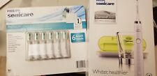 Philips Sonicare DiamondClean White Edition HX9332/05 New in openBox + 6 brushes