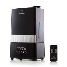 PureMate Digital Ultrasonic Cool Mist Humidifier & Ioniser - Aroma Diffuser Tray