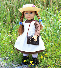 OOAK Custom Anne with an E American Girl Doll Freckles Red Hr Dress Green Gables