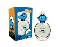 THE SMURFS BLUE STYLE BRAINY 3 D FOR BOYS 3.4 OZ EDT SPRAY NEW IN BOX