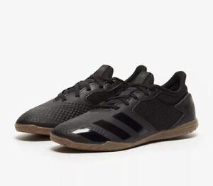 Adidas Predator 20.4 Indoor Sala Indoor Soccer Core Black Size 8.5 EF1663 BNIB