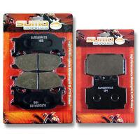 FRONT /& REAR BRAKE PADS YAMAHA XJ600 DIVERSION 1998 1999 2000 2001 2002 2003