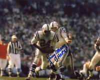 Lenny Moore Autographed Signed 8x10 Photo ( HOF Colts ) REPRINT