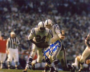 Lenny Moore Autographed Signed 8x10 Photo ( HOF Colts ) REPRINT