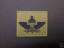 Singapore senior parachutist airborne special forces commando para wing badge