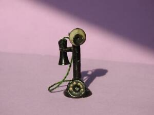 TAYLOR & BARRETT PREWAR HOME SERIES LEAD CANDLESTICK TELEPHONE RARE