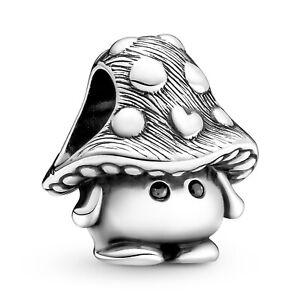 PANDORA Schmuck Silber Charm Süßer Pilz 799528C01