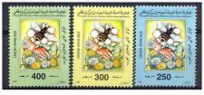 1998– Libya - The 2nd Conference of Arab Beekepers, Jordan- Bee- Compl.set 3V **