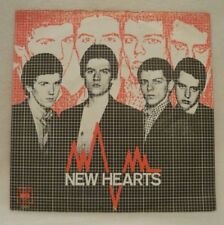 """NEW HEARTS - JUST ANOTHER TEENAGE ANTHEM 7"""" 45 RECORD - MOD - NEW WAVE - PUNK"""