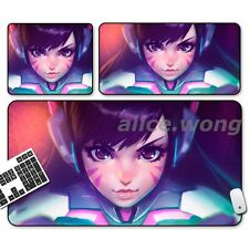 Game Overwatch OW D.VA Cosplay Anime Mouse Mat Gift Gaming Mouse Pad Xmas Gift