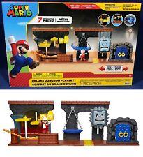 Super Mario DELUXE DUNGEON PLAYSET Interactive Environment 2.5 FIRE MARIO FIGURE