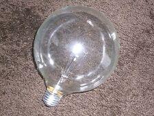 Sylvania Decor Globe 125mm large round Clear 60W Edison fitting