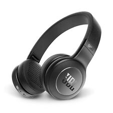 JBL Duet Bluetooth Wireless On-Ear Headphones BLACK w/ One-button remote & mic