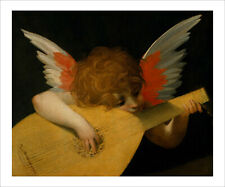 Fiorentino - Angel Playing the Lute 1521 - fine art print poster various sizes