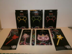 NEW - Neon Lights - Party Glow Sticks and Wands