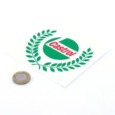 CASTROL Oil Garland Sticker Classic Vintage Car Motorcycle Vinyl Decals 100mm