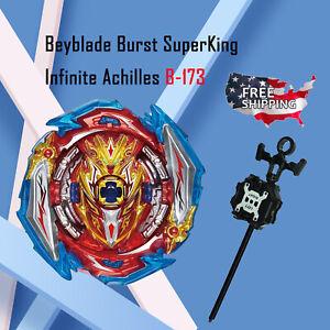 Infinite Achilles B-173 Beyblade Burst Superking Sparking Starter Set US Seller!