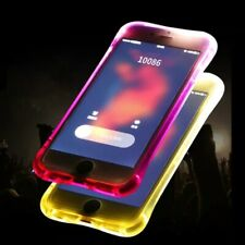 Funda de móvil LED relámpago para Apple iPhone 5 hasta XS Max iPhone LED funda
