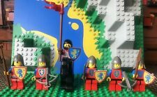 LEGO Vintage Castle Lion Knights Crusaders Minifigure Lot Weapons Horse