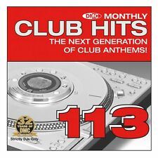 DMC Club Hits Issue 113 Chart Dance Clubbing DJ Music CD