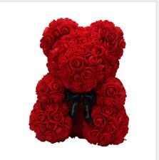 New 45cm Giant Large Huge Teddy Bear Big Red Rose Flower Bear Toy Valentine Gift
