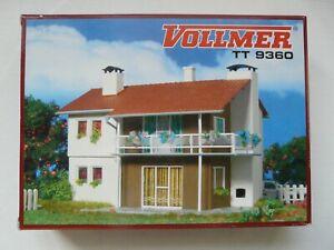 Vollmer 9360 Spur TT Bausatz Zweifamilienhaus Wohnhaus Gebäude Haus - Nummer 2