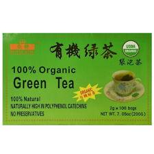 Royal King 100% Natural Organic Green Tea - 100 Tea Bags