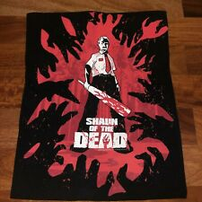vintage 2005 shaun of the dead zombie movie horror promo 90s y2k T-shirt