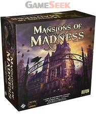 FANTASY FLIGHT GAMES MANSIONS OF MADNESS 2ND EDITION BOARD GAME - TOYS BRAND NEW