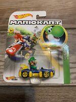 Hot Wheels Mario Kart Luigi Yoshi Error Card VERY RARE VHTF