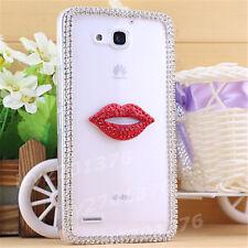 Shine Bling Clear Crystal Gem Diamonds Back TPU soft Gel shell Case Cover Skin G