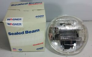 4000 12 Volt Headlight Low Beam Bulb Incandescent Sealed Beam Headlamp