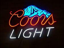 "Coors Light Beer Color Changing Led Light Bar Sign 29"" X 21�"