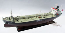 Texaco Bergen Tanker Handmade Wooden Oil Tanker Ship Model