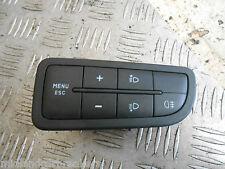 FIAT GRANDE PUNTO 2010 nebbia luce spot menu ESC INTERRUTTORE pulsanti di controllo