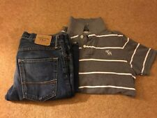 Men's Abercrombie & Fitch Jeans W31 L32 and Polo Shirt M.